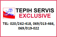 TEPIH SERVIS EXCLUSIVE
